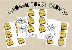 synonym toast crunch game