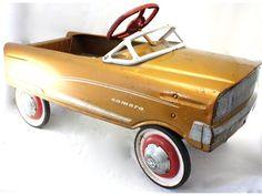 All Original Vintage Antique Murray Camaro Pedal Car RARE!