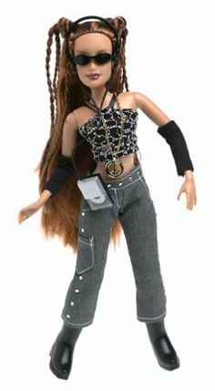 Mattel Flavas Denim and Diamonds Happy D fashion doll