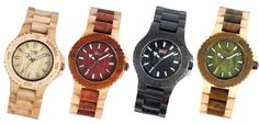 wood watches!