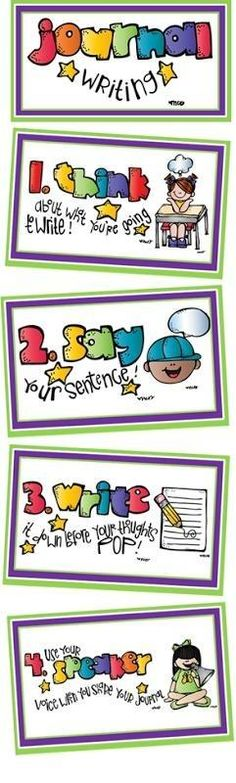 Get Your Students Writing (Free Poster Download)