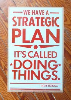 Strategic plan print from Baltimore Print Studios