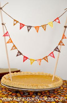 Free Bunting For Thanksgiving