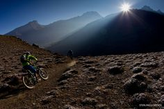 lights, sterl lorenc, god, cleanses, mountain biking