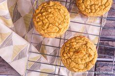 Low Carb Coconut Muffins | Slender Kitchen
