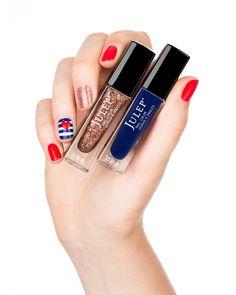 July 4th nail inspo from Julep  #Sephora #SephoraNailspotting #nailpolish #nails