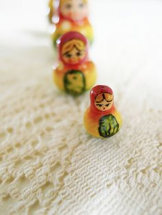 Russian dolls. #matryoshka #slavic