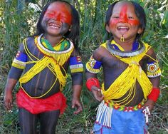 Brazil | Amazonian Indian children | © Pauliane Melo