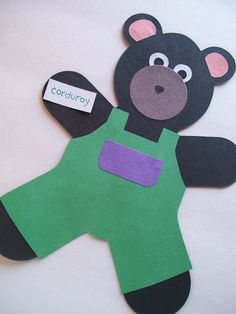 A Pocket For Corduroy bear templates