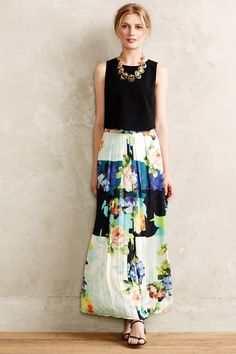 Kmeria Maxi Skirt | Anthropologie