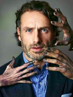 Andrew Lincoln - Rick Grimes, The Walking Dead