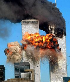 Twin Towers on 911-Never Forget