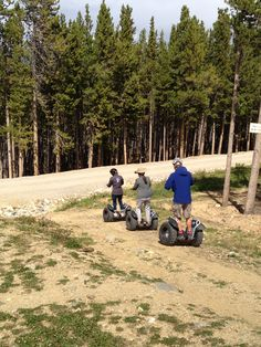 Love how creative these adventurers are! No snow? No problem!   -Breckenridge Ski Resort in Colorado!