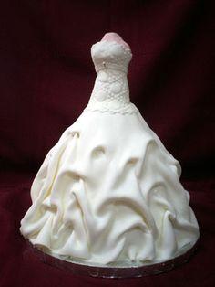 Dana's Wedding dress by Cakes by Kelli, via Flickr