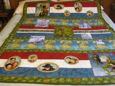 2010 Chambers Boy Scout Quilt by Twinzsl, via Flickr photo quilt, quilt idea, boyscout, scout quilt