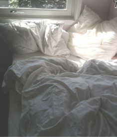 sometimes an unmade bed is the best kind.