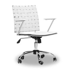 Find it at the Foundary - Vittoria Leather Office Chair