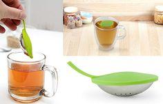 Kikkerland Floating Leaf Tea Infuser