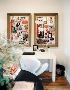 double inspiration boards.