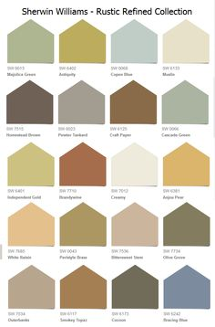 "Sherwin-Williams (""Rustic Refined"" Collection)"