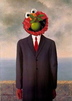 Sesame Street Character Parodies: photoshop