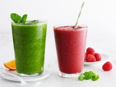 The Super Green smoothie