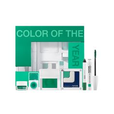 The 2013 Color of the Year Emerald Collection ($68): This set comes with everything green including the grid eye shadow block, prismatic shadow, liner stain, glitter dust, waterproof jumbo eyeliner, and highlighting mascara.