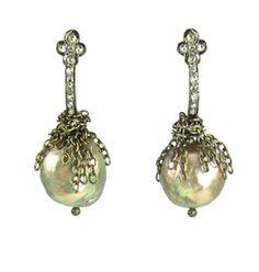 Beautiful! ~ diamonds & kasumi pearls, Nan Fusco Jewelry
