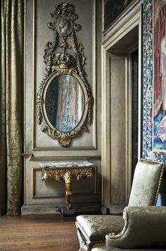 decor, mirrors, houses, hams, french interiors, paint colors, beauty, architecture, french inspir