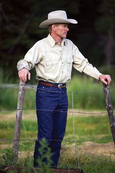 The Classic Abilene Denim or Twill Shirt Made in USA by Schaefer