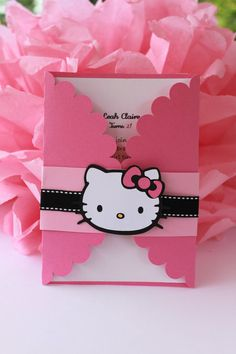 Hello Kitty Invitations Set of 12