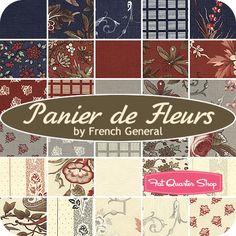 French General Panier De Fleurs