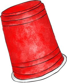 The cup game ~ A simple clapping routine that's fun to do with a big group of people. You learn the routine and try to do it as fast as you can. I've played during summer camps in cafeterias at meal times. It makes a lot of noise, and it's fun to do with a lot of people.