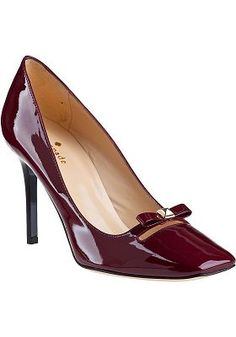 Kate Spade - Highline Pump Ruby Patent