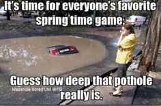 Everyone's favorite spring time game!