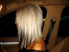 Love this cut. I would do light brown with dark brown underneath, though