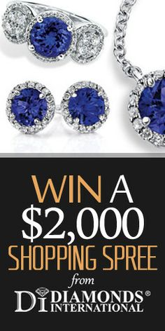 #Win a $2,000 #Shopping #Spree from #Diamonds #International #Contest #Competition #Sweepstakes #Giveaway