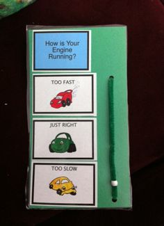 Great idea for self regulation