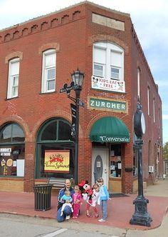 Disney's original Main Street USA in Marceline, Missouri