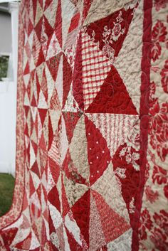 French General Hour Glass Quilt