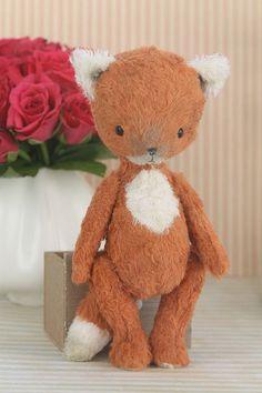 fox - Doll artist Diana Yunusov Plyushkin