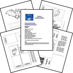 Stellaluna Free Unit Study and Lapbook; matches: The 20th Century Children's Book Treasury from the Sonlight Preschool Program