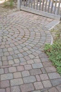 How to install Stone Pavers Over a Concrete Sidewalk - I plan to do this some day