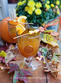 Maker's Mark Mulled Apple Cider #Fall #Cocktails