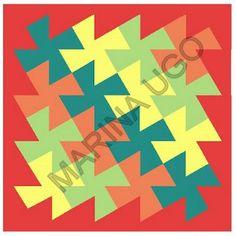 """""""Coisas que aprendi"""" por Marina Ugo: Dança dos Quadrados - Flic-Flac"""