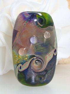 HANDMADE LAMPWORK Glass Bead♥