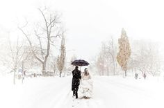 Winter Wedding Photo of the Day  #winterwedding  For more ideas visit www.pinterest.com/cathedraloaks or www.cathedral-oaks.com