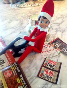 elf on the shelf ideas1 200 Easy Elf on the Shelf Ideas