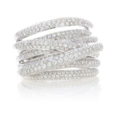 stackable rings, 14k white, gold 195, carat diamond, diamond stackabl, 195 carat, stackabl ring, white gold, jewelry rings