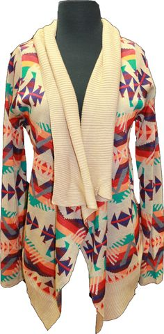 Indian Aztec Cardigan - Amour Boutique